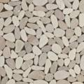 Sliced Matte Pebbles White/Beige Mix (Gami-36) Thumbnail Image