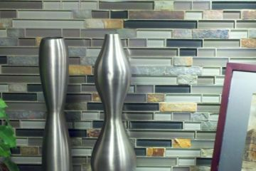 Slate and Glass Medley Mosaics Series