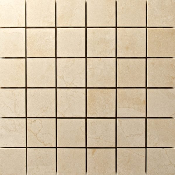 Crema Marfil Mosaic Photo