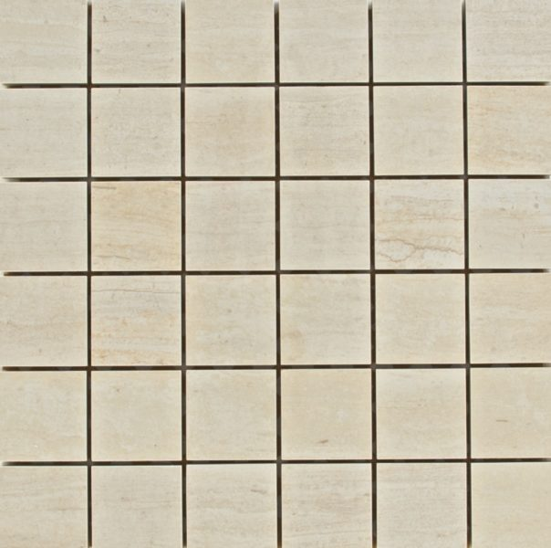Light Gingko Beige Mosaic Photo