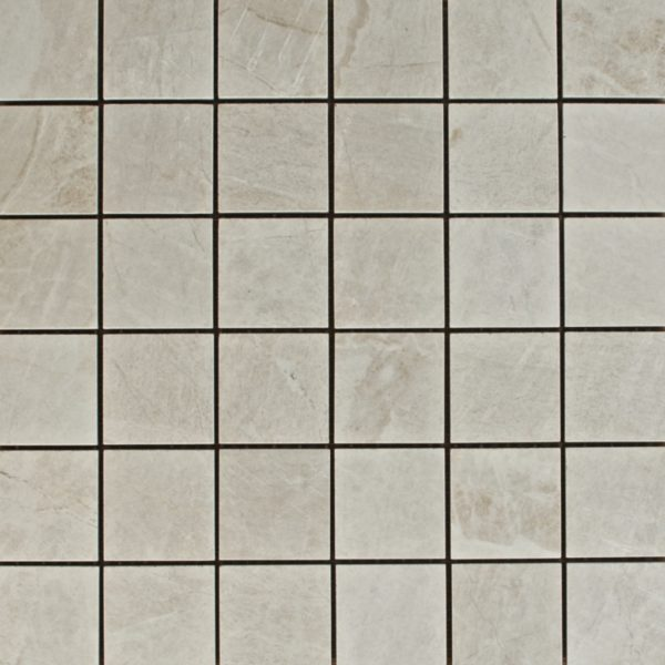 White Mosaic Photo